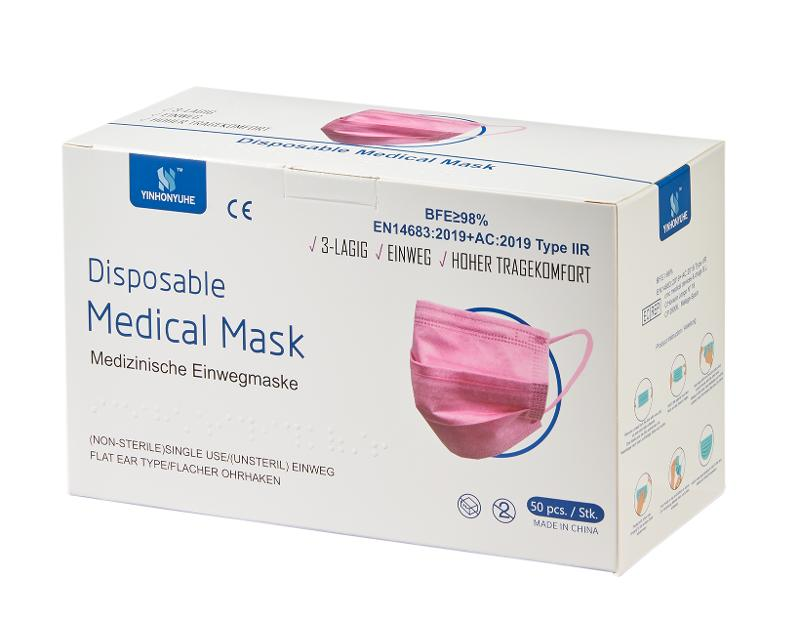 Yinhonyuhe Disposable Medical Mask Type 2r - CE certified