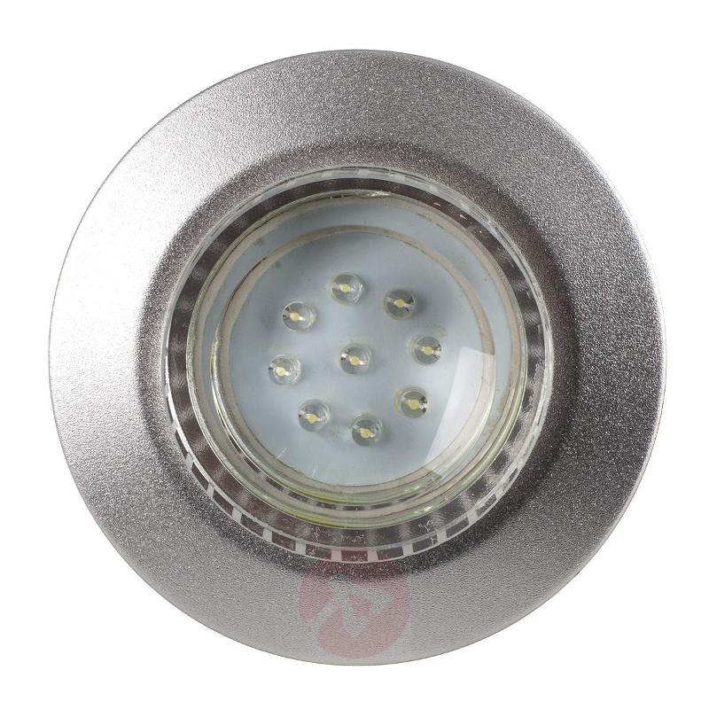 Tito LED recessed wall light, daylight - Brick Lights