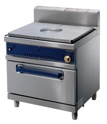 Cooking line 900 First Choice - solid top, gas, gas oven GN2/1