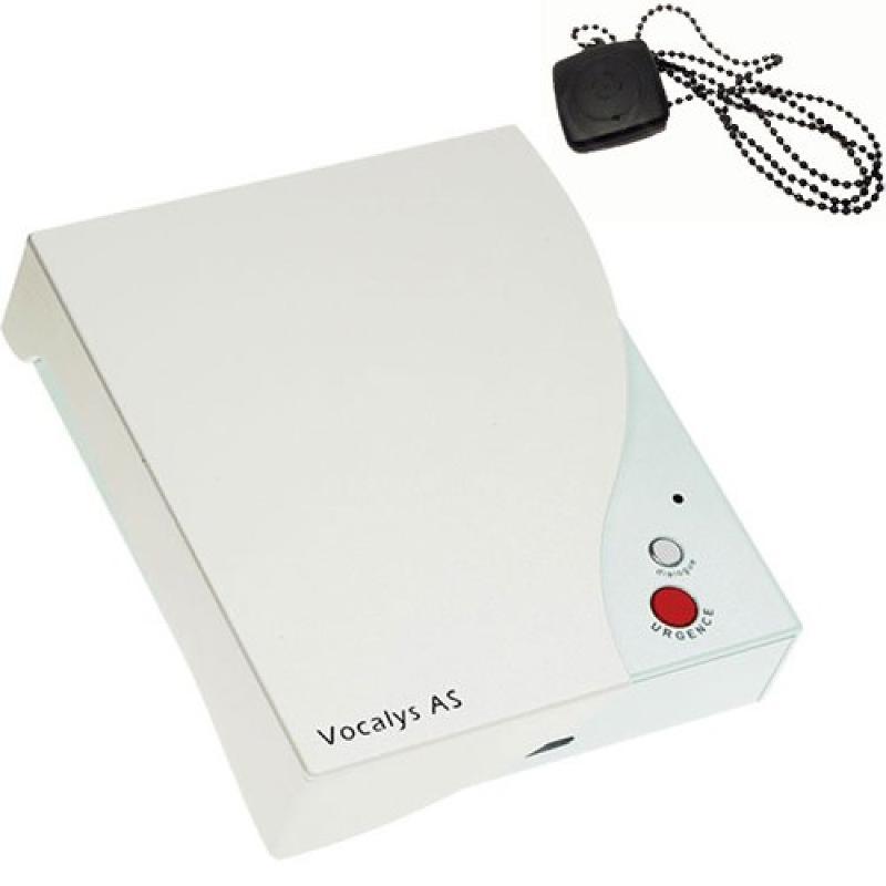 Appareil de téléassistance avec pendentif Vocalys - Domotique & transmetteur
