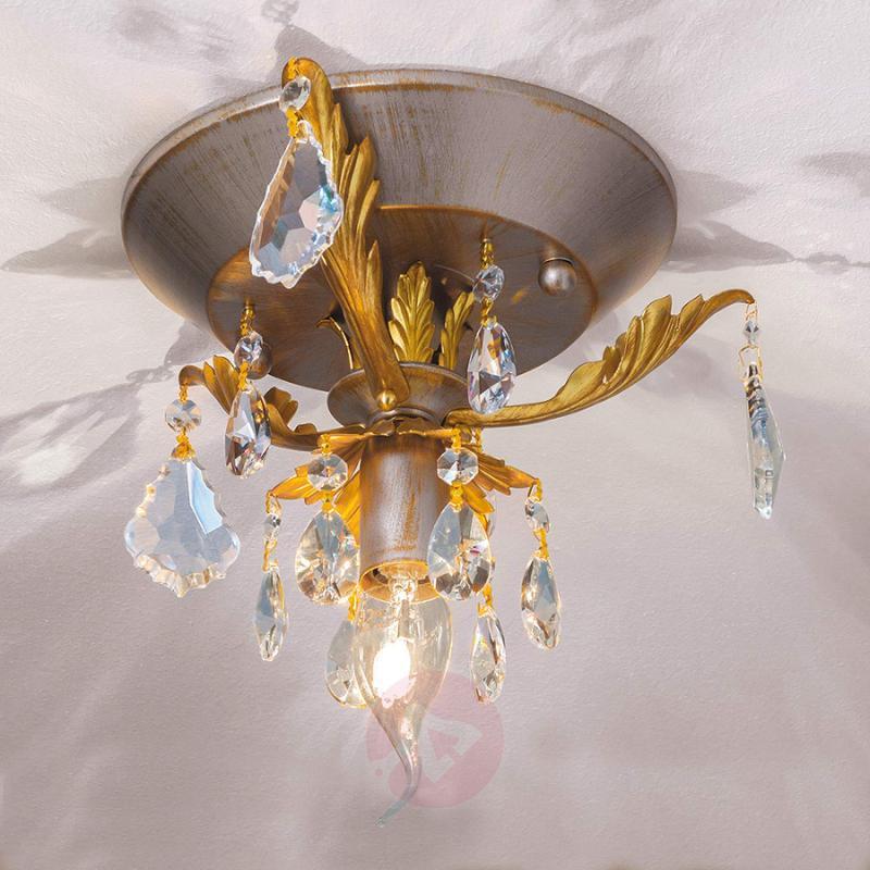 Antique ceiling light Miramare, 1-light - design-hotel-lighting