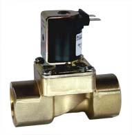 Servo-controlled solenoid valve NC, DN 17 - 01.017.521