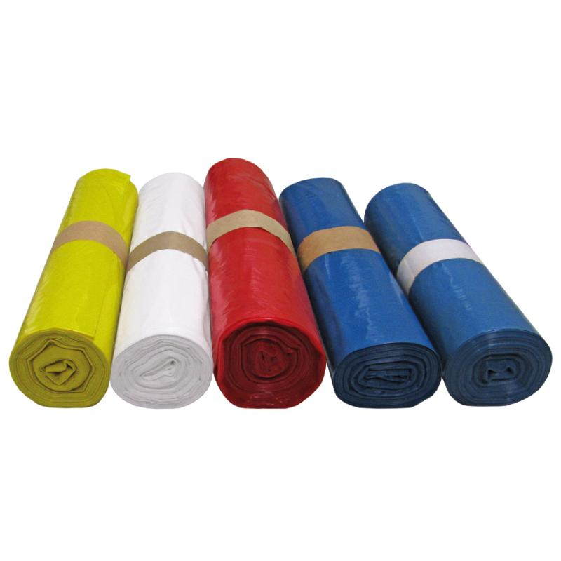 Müllsäcke, 140 Liter, 90 x 110 cm, blau, Stärke 38µ,... - Abfallsäcke