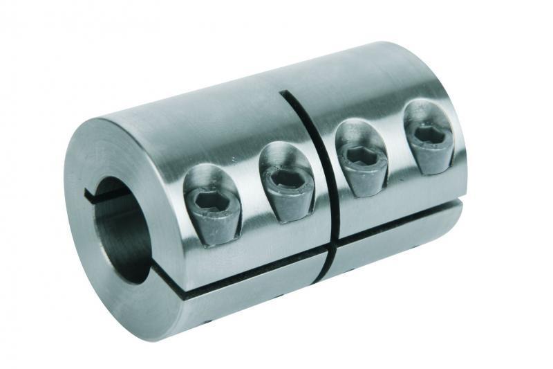 Starre Kupplungen geschlitzt / geteilt - Starre Kupplungen geschlitzt oder geteilt. Stahl 1.0718. Edelstahl 1.4305.