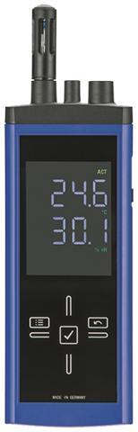 Thermo-Hygrometer mit Laserpyrometer