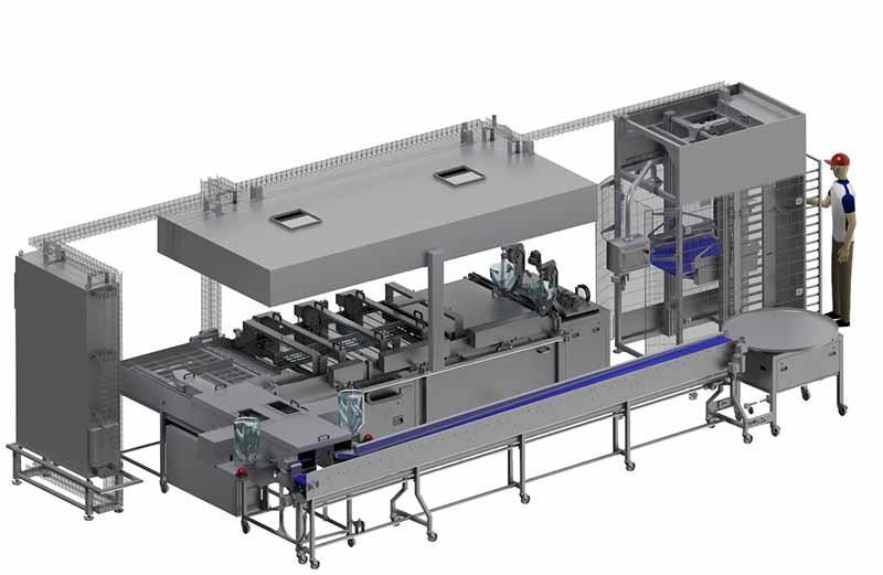 Industriedurchlaufanlage IDA 1100-20 - Fettbacken in Handwerksqualität und großen Stückzahlen