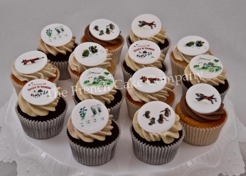 Gâteaux et Pièces Montées sur-mesure - Cupcakes Mariage Nature
