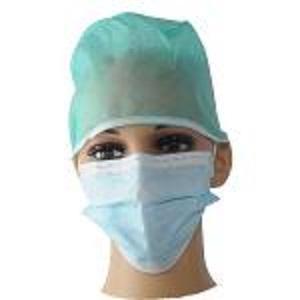 masque facial jetable avec contour d'oreille -
