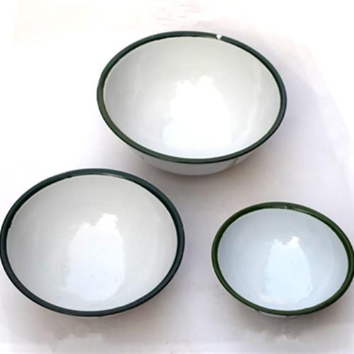 Ice flower enamel bowl - 10-20 cm