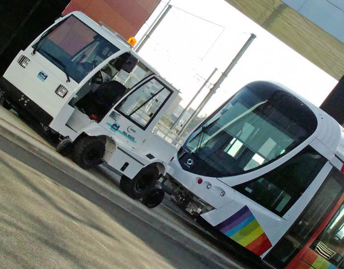 Véhicule Rail-Route - COMET RR