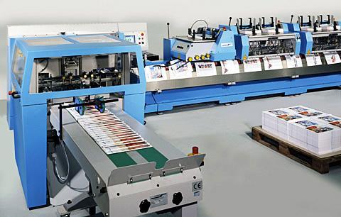 Ligne automatique pour production de brochures - Finition