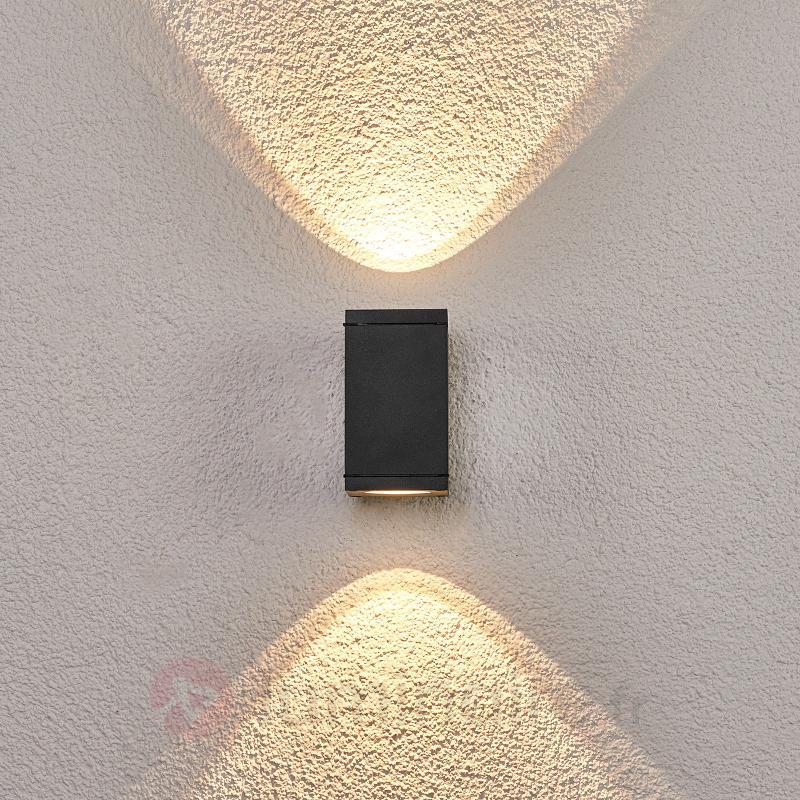Applique d'extérieur LED carrée Nuria - Appliques d'extérieur LED