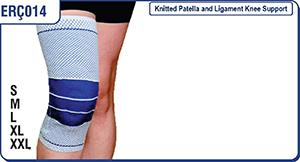 Knitted Patella and Ligament Knee Support - ERC014