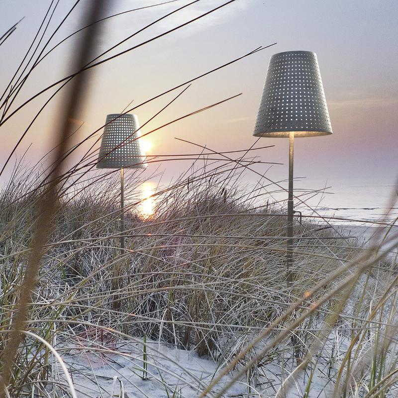 Lampadaire Fuse avec piquet de sol IP44 - Luminaires de terrasse