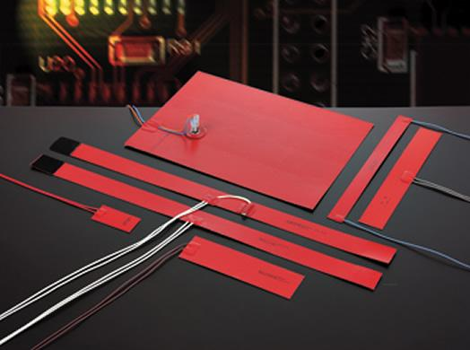 Silicone rubber heaters - electrical-armored-resistances
