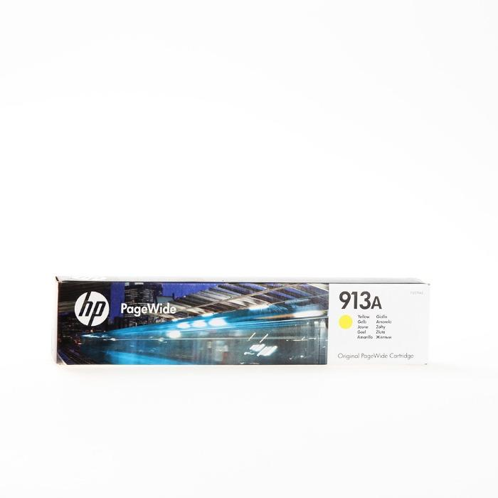 HP - Mürekkep kartuş - HP 913A orijinal sari kartus F6T79AE