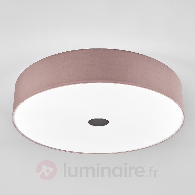 Plafonnier LED Toulouse 45cm couleur cappuccino - Plafonniers LED