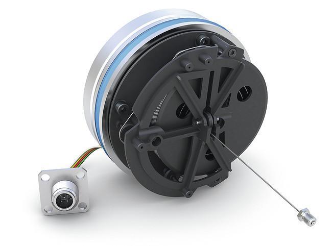 线拉编码器 SGH50 - 线拉编码器 SGH50 -  用于液压缸的位置传感器测量长度最大达 5000 mm
