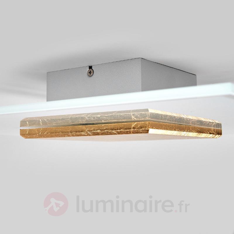 Plafonnier LED de qualité Lole abat-jour en verre - Plafonniers LED