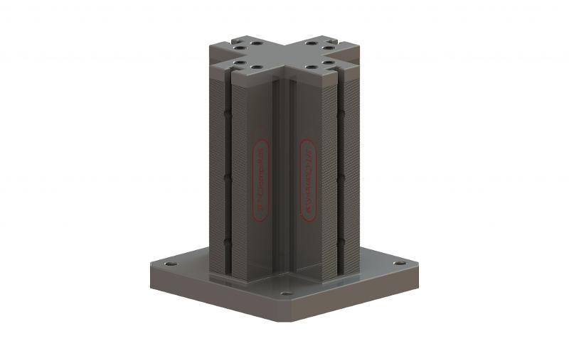 Spannturm, Schienenlänge 300 mm - null