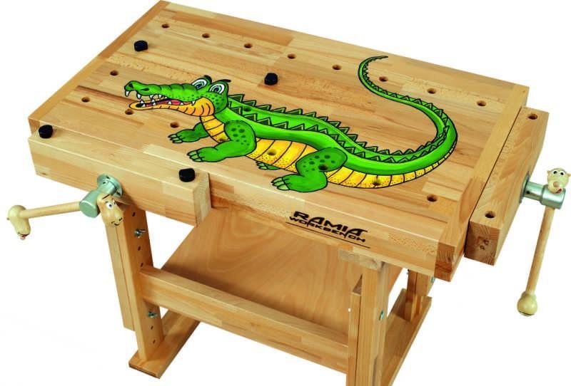 Zuberhör - Zeichnung für KID's - das Krokodil