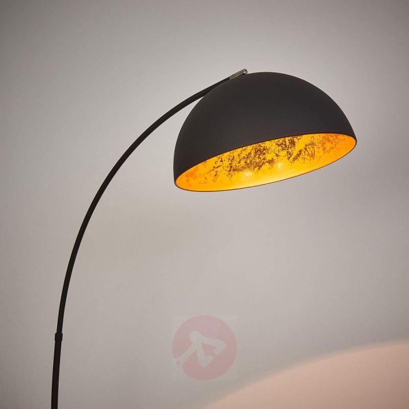 Golden Sun arc floor lamp - indoor-lighting