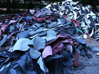 Отходы кожевенного производства - Полуфабрикаты кожевенные