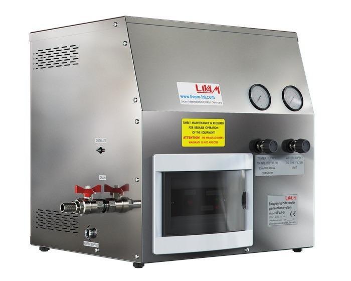 Livam UPVA-5  Water purification system - Reagent grade water generation system