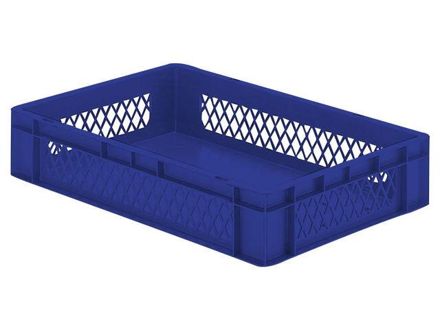 Stacking box: Dina 120 2 - Stacking box: Dina 120 2, 600 x 400 x 120 mm