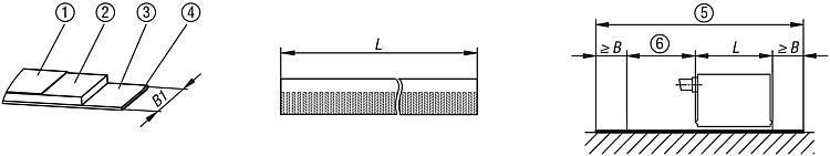 Bande magnétique avec échelle codée incrémentalement,... - Règles, indicateurs de position, nivelles