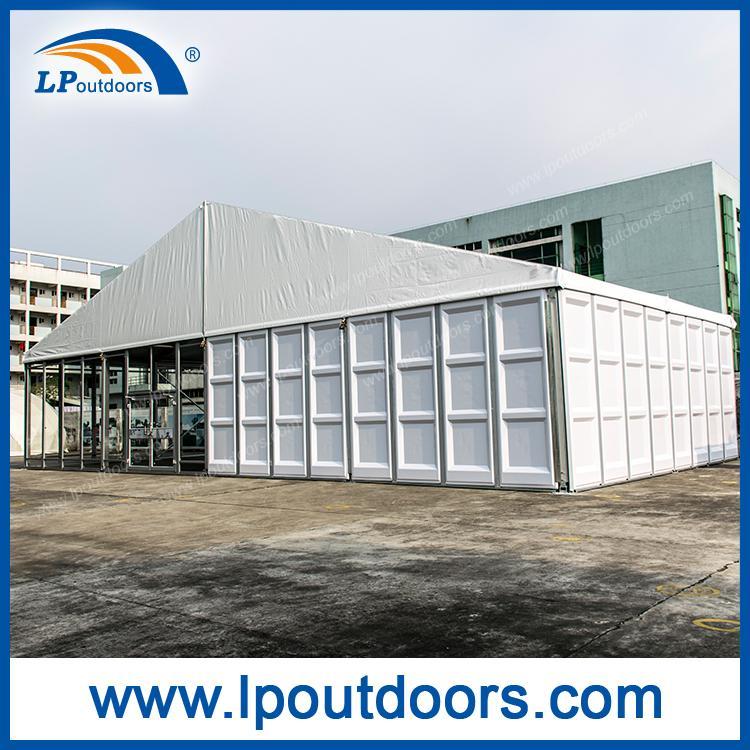 Carpa de fiesta de exterior de pared de vidrio ABS de 20M pa - Tienda de fiesta de 20 metros de LP OUTDOORS