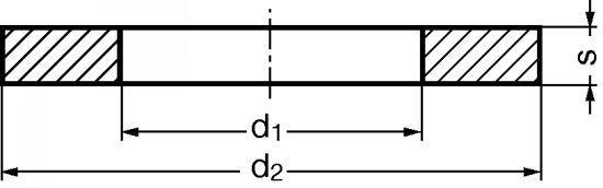 RONDELLE PLATE ÉTROITE Z DÉCOUPÉE INOX A2 - NFE 25-514 (216503)