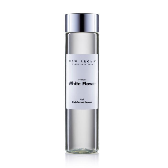 White flower aceite aromático desinfectante - Aceite aromático con componente desinfectante certificado