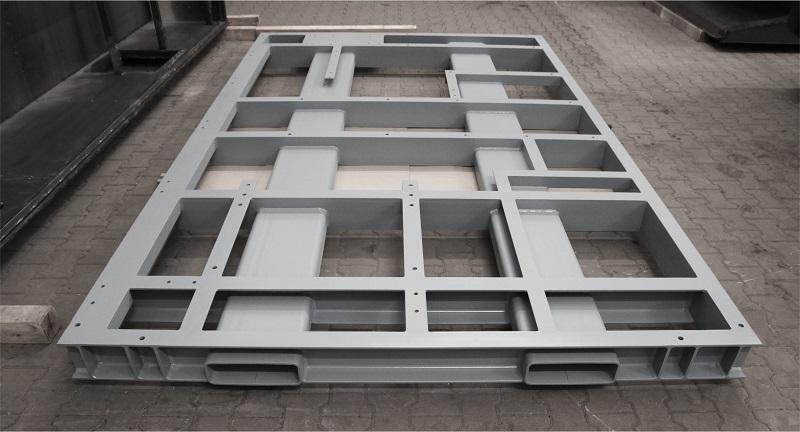 Frame - steel, stainless steel and aluminum