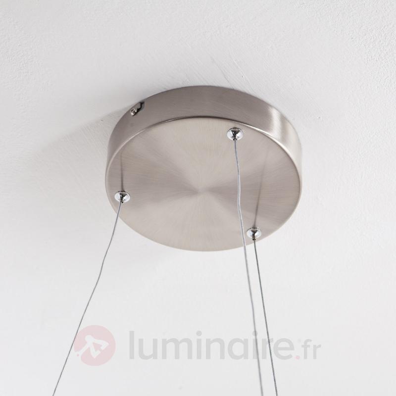 Suspension LED Lovisa avec 2 anneaux LED - Suspensions LED