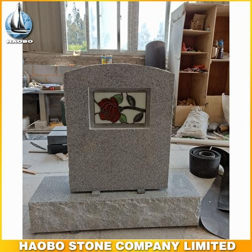 Beautiful Carving Rose Granite Tombstone Wholesale - We take pride in making each & every monument custom.