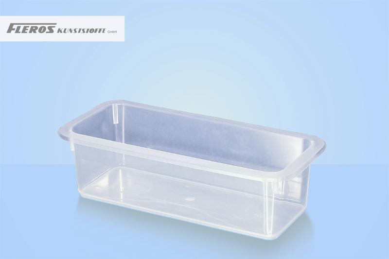 Sealing bowls - FK 1.000 rectangular bowl, able to seal