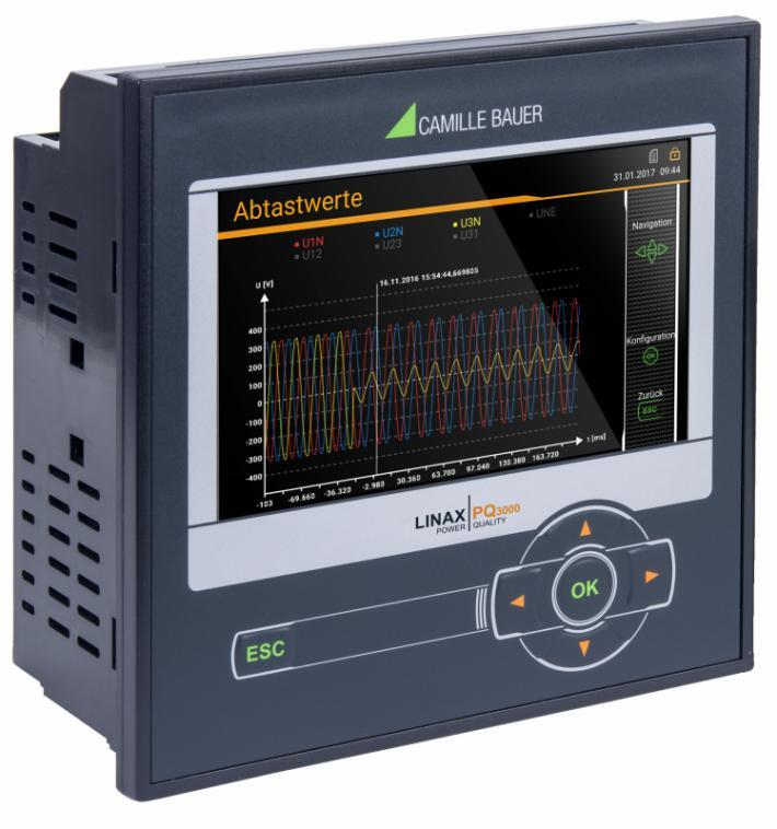 LINAX PQ3000 / LINAX PQ5000 - Combined power quality and energy consumption monitoring