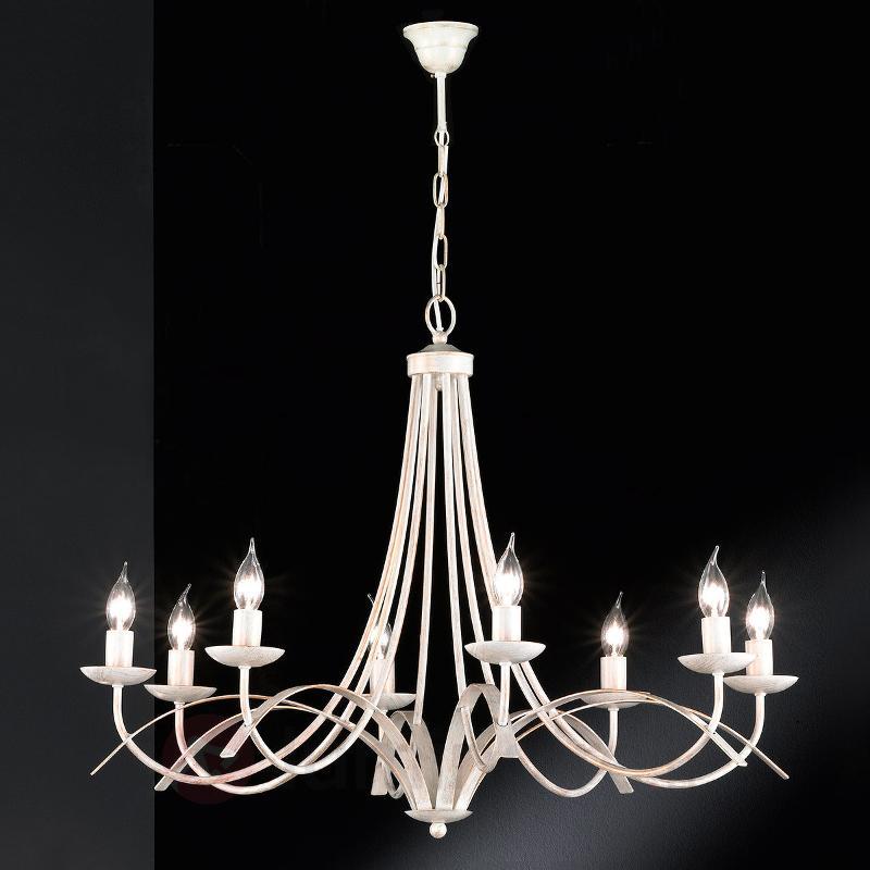 Lustre à huit lampes Hannes - Lustres classiques,antiques