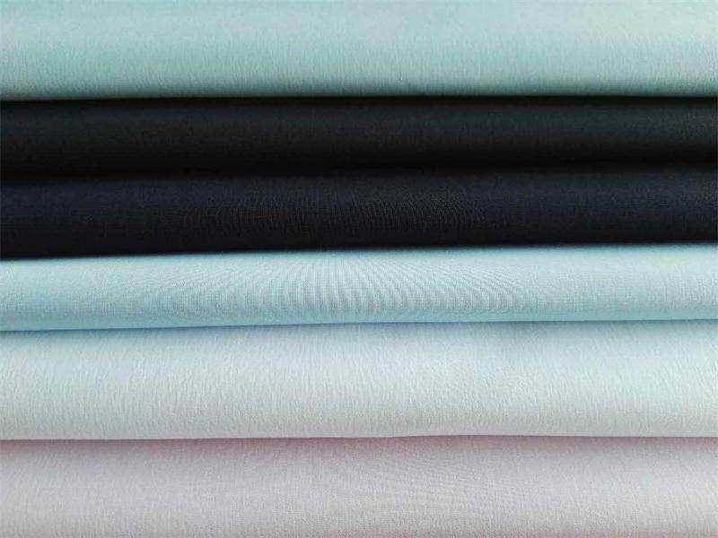 coton55polyester45 45x45 136x72 - bien rétrécissement, lisse surface, vierge polyester,pour chemise