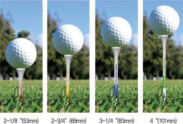 Wooden golf tee - null
