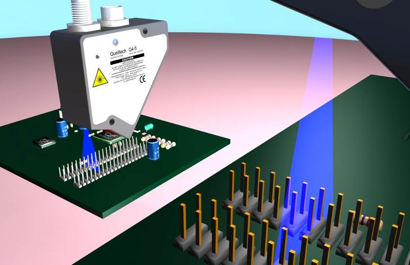 Verification of pin alignment - Application - service