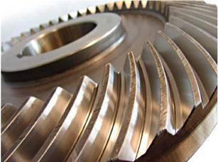 Bevel gear with Klingelnberg spiral teeth - special products