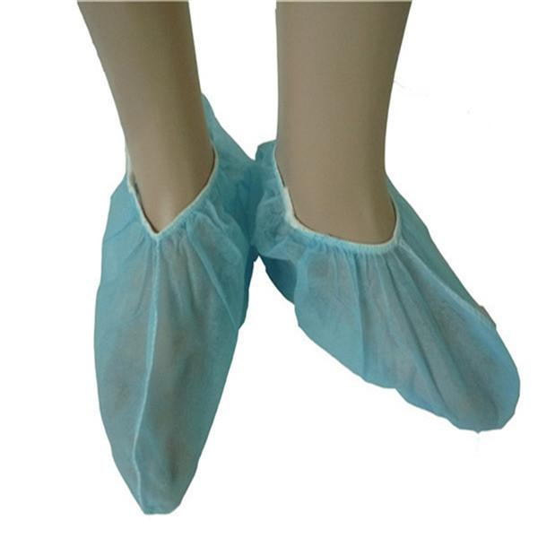 Nonwoven Shoe Cover - blue, white, green or customized,  41 x 15cm or customized