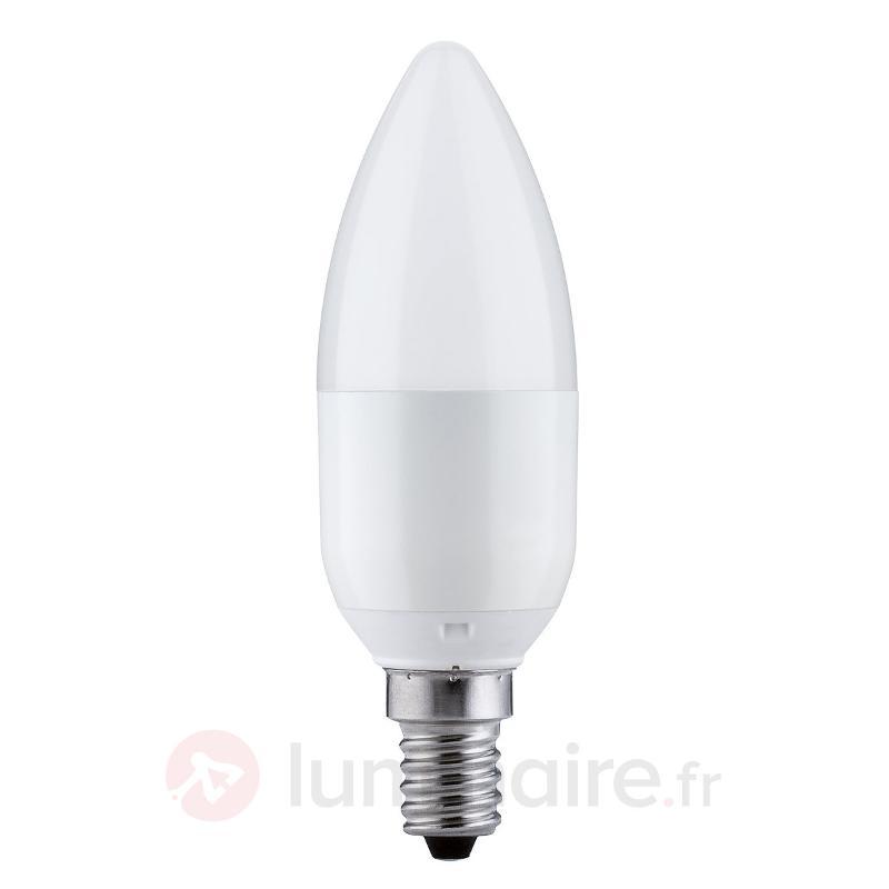 Ampoule flamme LED E14 5,5W 827, variable - Ampoules LED E14