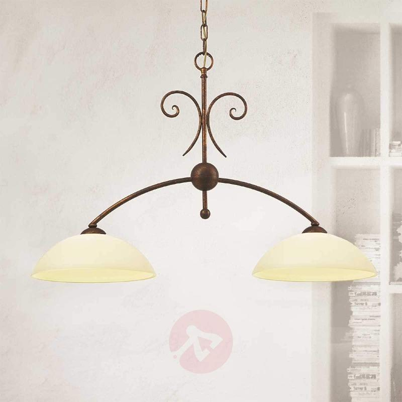 2-bulb hanging light Federico - Pendant Lighting
