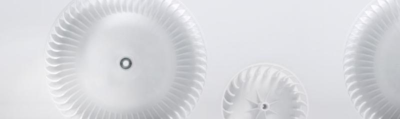 Fan Wheels and Turbines - synthetics injection moulding technology