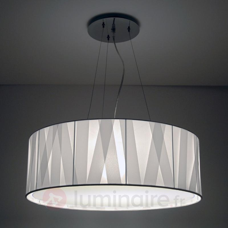 Suspension design blanche Cross Lines 60 cm - Suspensions design