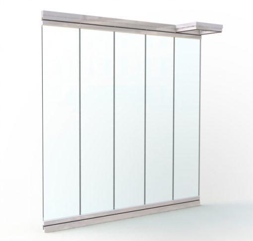 Frameless Sliding Glass Walls - AIRCLOS A32