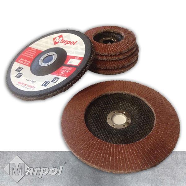 Flap Disc - 180 x 22 mm AO Flap Disc - Aluminium Oxide Flap Disc